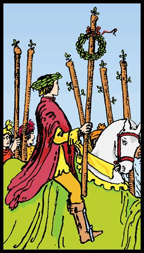 Asaların Altılısı - Tarot Kartı