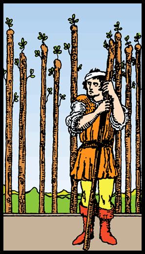 Asaların Dokuzlusu - Tarot Kartı