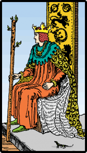 Asaların Kralı - Tarot Kartı