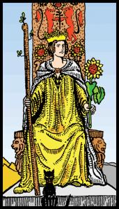 Asaların Kraliçesi - Tarot Kartı