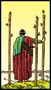 Asaların Üçlüsü - Tarot Kartı