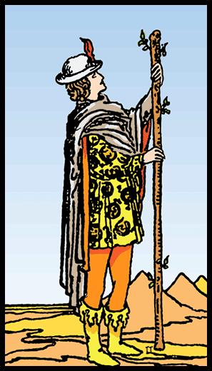 Asaların Uşağı - Tarot Kartı