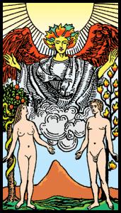 Aşıklar - Tarot Kartı