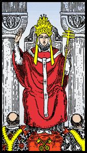 Aziz - Tarot Kartı