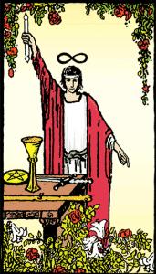 Büyücü - Tarot Kartı