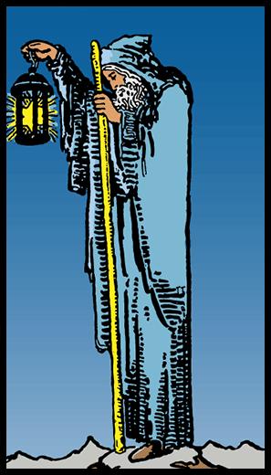 Ermiş - Tarot Kartı