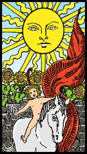 Güneş - Tarot Kartı