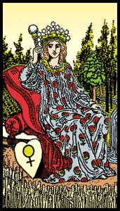 İmparatoriçe - Tarot Kartı