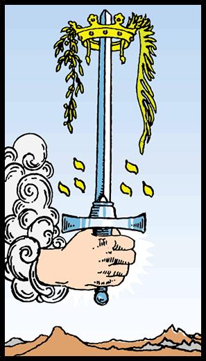 Kılıçların Ası - Tarot Kartı