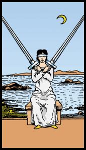 Kılıçların İkilisi - Tarot Kartı