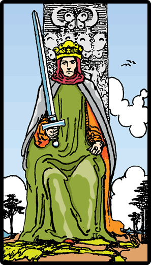 Kılıçların Kralı - Tarot Kartı