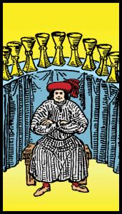 Kupaların Dokuzlusu - Tarot Kartı