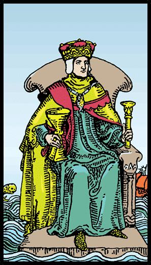 Kupaların Kralı - Tarot Kartı
