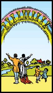 Kupaların Onlusu - Tarot Kartı