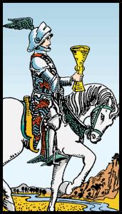 Kupaların Şövalyesi - Tarot Kartı