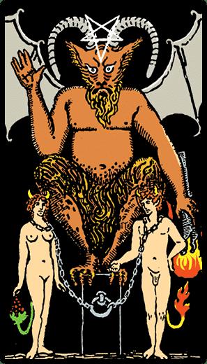 Şeytan - Tarot Kartı