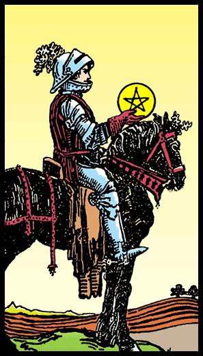 Tılsımların Şövalyesi - Tarot Kartı